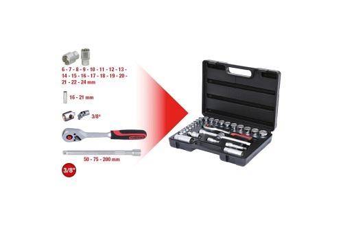 KS Tools 3/8 Superlock Steckschlüssel Satz